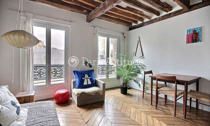 Rent Apartment 1 Bedroom 40m² rue de Turenne, 3 Paris
