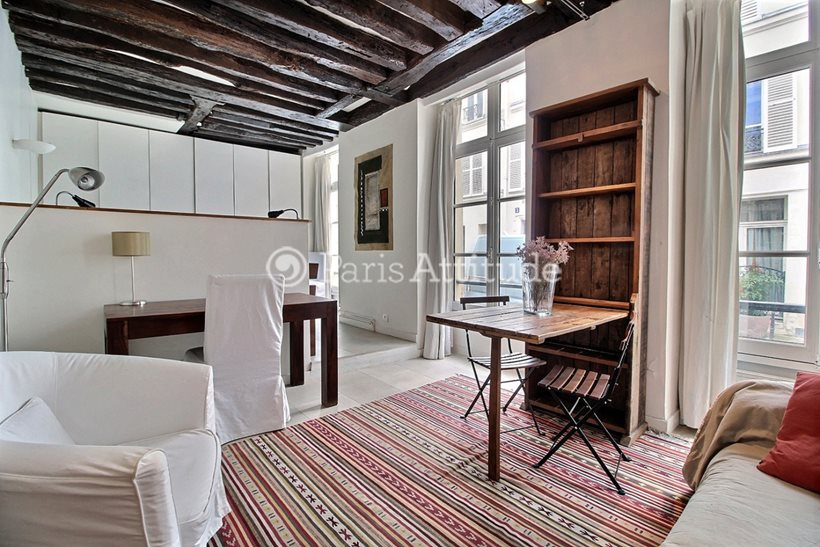 Louer Appartement meublé Studio 38m² rue du Foin, 75003 Paris