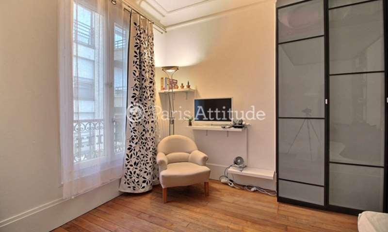Rent Apartment Studio 27m² rue Froment, 75011 Paris