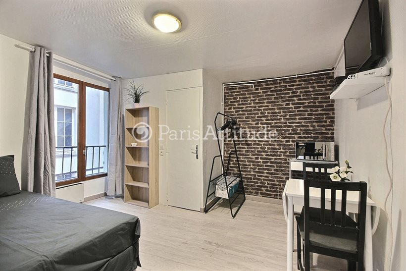Rent furnished Apartment Studio 20m² rue de la Folie Mericourt, 75011 Paris