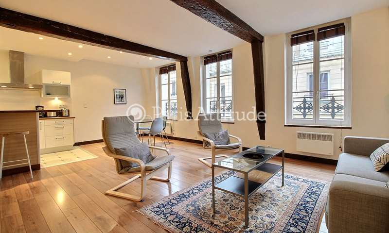 Rent Apartment 1 Bedroom 66m² rue d Aboukir, 2 Paris