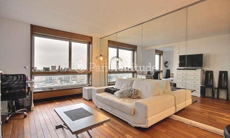 Location Appartement 1 Chambre 43m² quai de Grenelle, 15 Paris