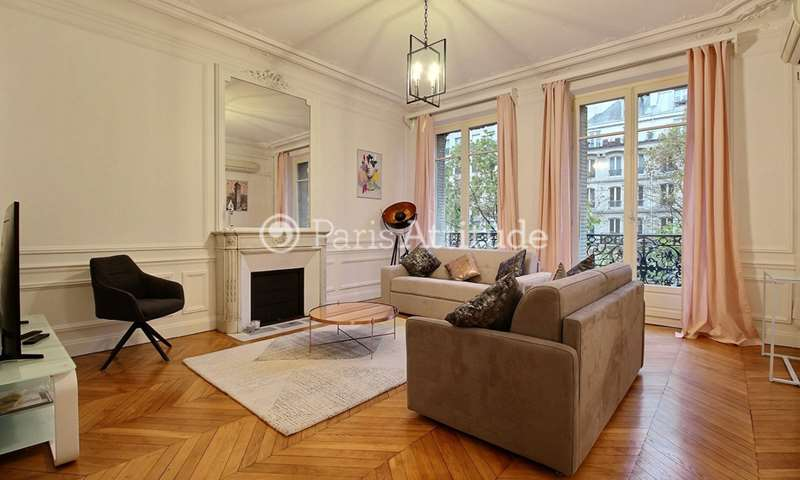 Rent Apartment 3 Bedrooms 138m² avenue des Ternes, 17 Paris