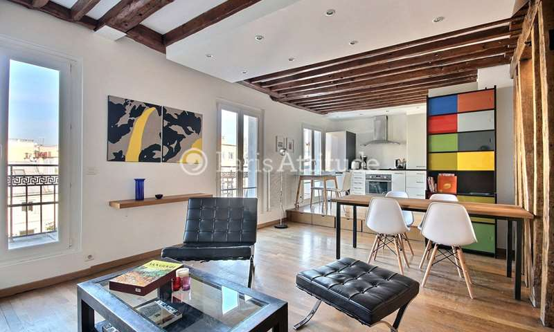 Rent Apartment 2 Bedrooms 60m² rue Jean Pierre Timbaud, 11 Paris