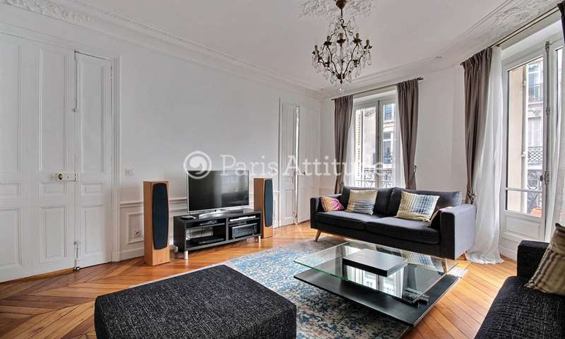 Rent Apartment 2 Bedrooms 92m² rue de Constantinople, 8 Paris