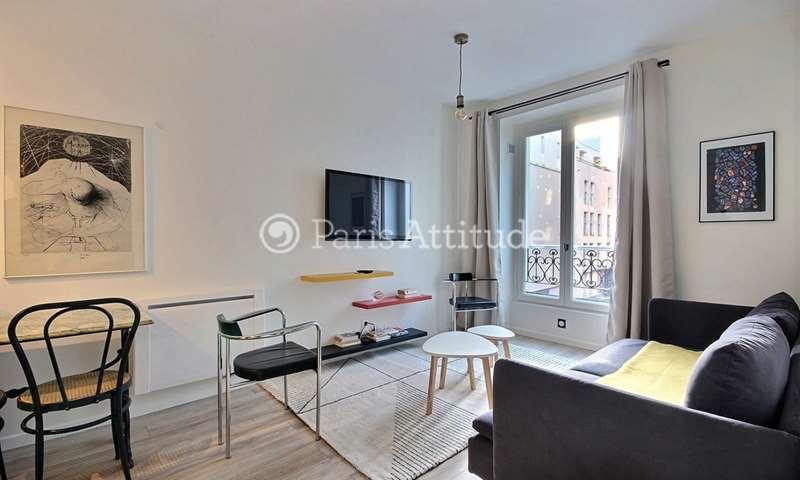 Location Appartement 1 Chambre 32m² rue Myrha, 18 Paris