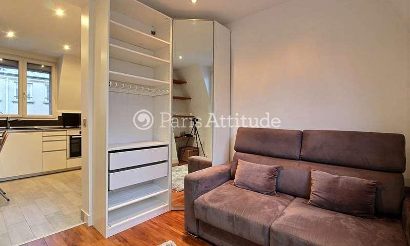 Rent Apartment Studio 21m² cite de Trevise, 9 Paris
