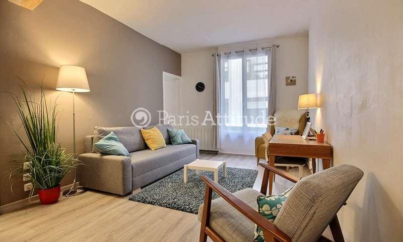Rent Apartment 1 Bedroom 38m² rue Edgar Poe, 75019 Paris