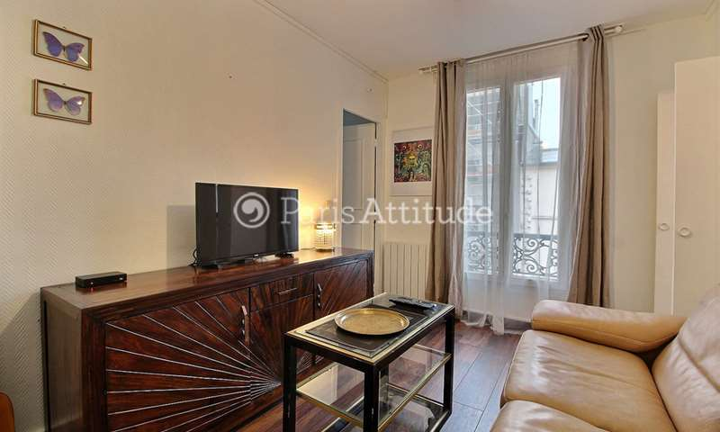Rent Apartment 1 Bedroom 27m² rue de Terre Neuve, 75020 Paris