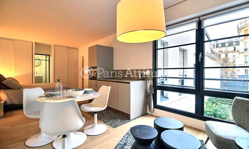 Rent Apartment Studio 35m² rue Gobert, 11 Paris