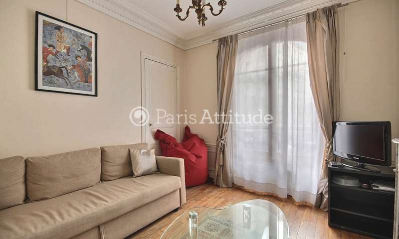 Rent Apartment 1 Bedroom 48m² rue Clodion, 15 Paris