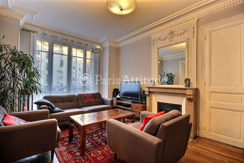 Rent furnished Apartment 2 Bedrooms 87m² rue du Cher, 75020 Paris