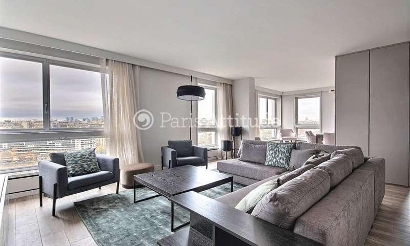 Location Appartement 2 Chambres 114m² quai de Grenelle, 15 Paris