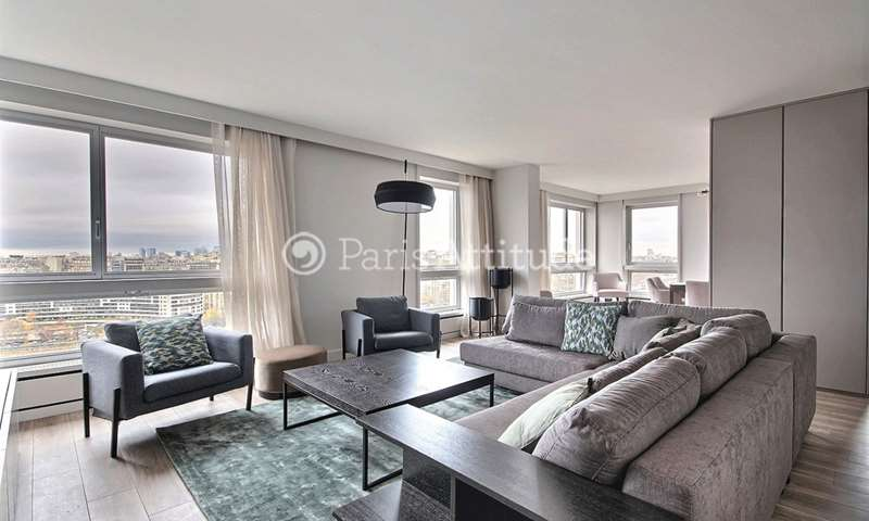 Rent Apartment 2 Bedroom 114m² quai de Grenelle, 75015 Paris