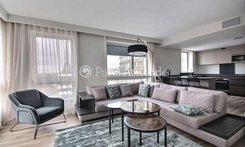 Rent Apartment 2 Bedroom 85m² quai de Grenelle, 75015 Paris