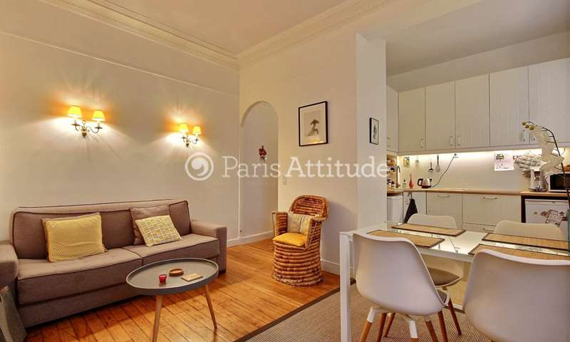 Rent Apartment 1 Bedroom 34m² rue du Château, 75014 Paris
