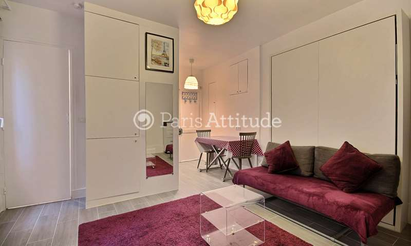 Rent Apartment Studio 20m² rue Durantin, 75018 Paris
