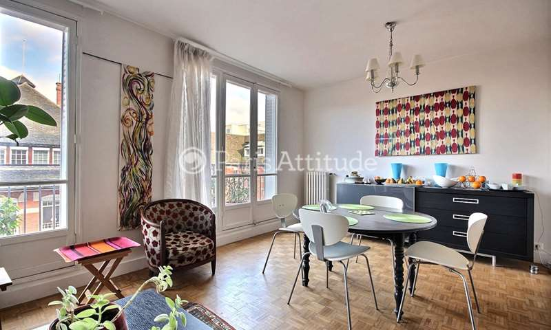 Rent Apartment 2 Bedrooms 76m² rue Santerre, 12 Paris