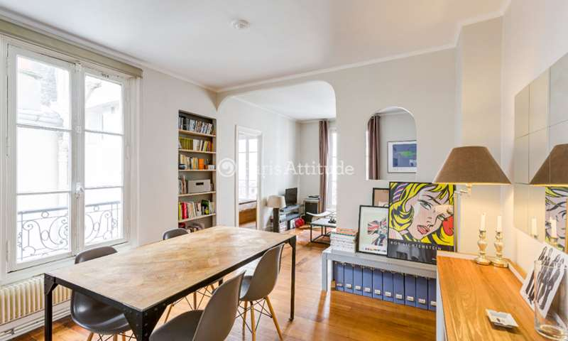 Rent Apartment 1 Bedroom 40m² rue de la Felicite, 75017 Paris