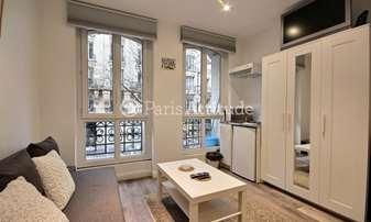 Rent Apartment Studio 14m² rue Custine, 18 Paris