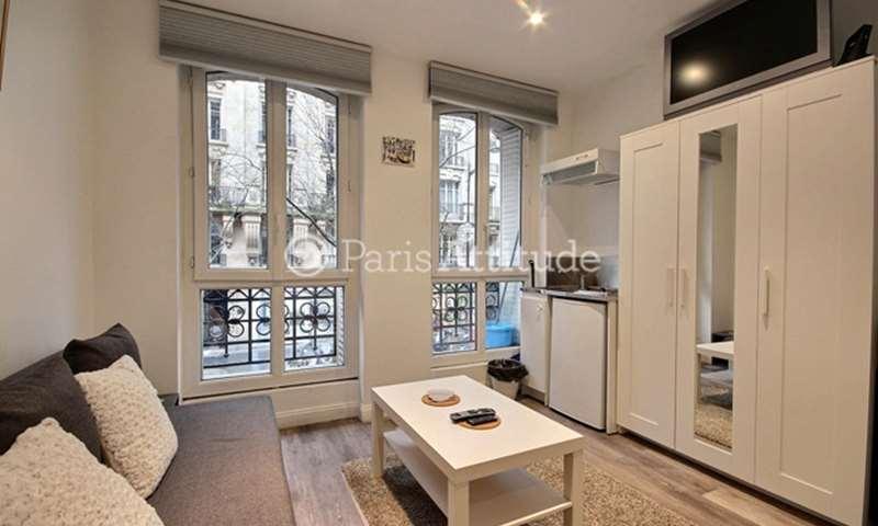 Location Appartement Studio 14m² rue Custine, 18 Paris