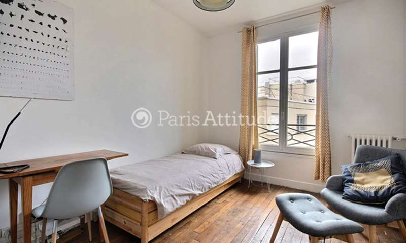 Rent Apartment Studio 21m² avenue Mathurin Moreau, 19 Paris
