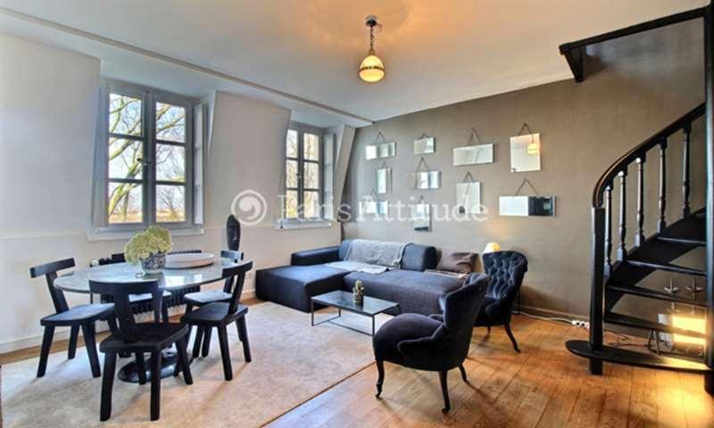 Aluguel Apartamento 1 quarto 47m² rue Norvins, 75018 Paris