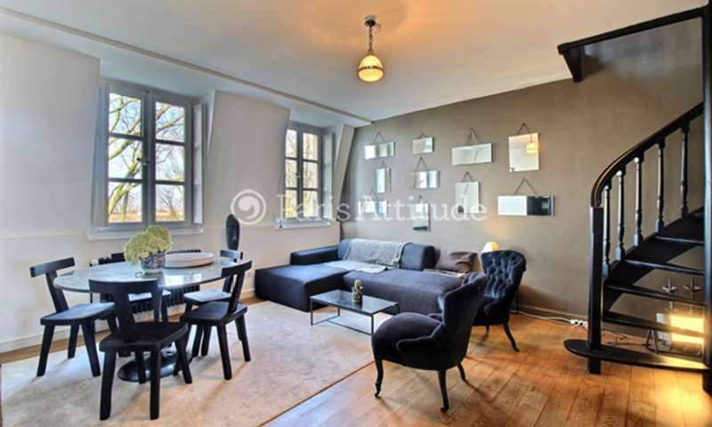 Rent Apartment 1 Bedroom 47m² rue Norvins, 75018 Paris