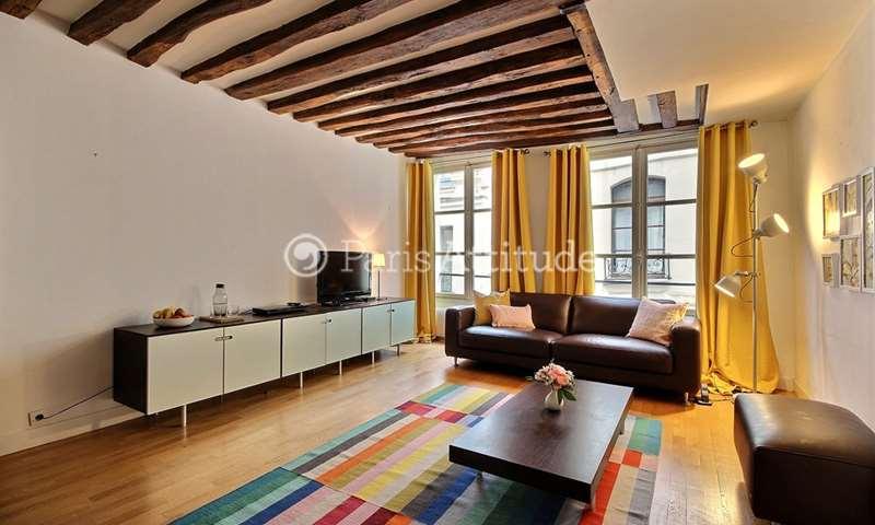Rent Apartment 1 Bedroom 60m² rue Sauval, 1 Paris