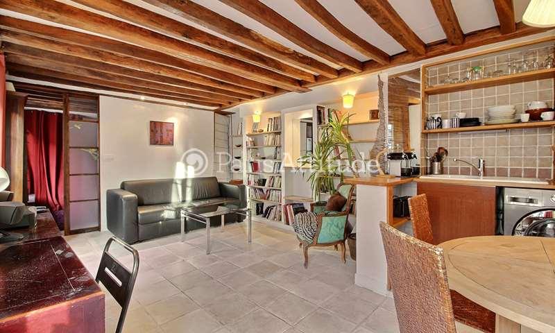 Rent Apartment 1 Bedroom 35m² rue du Bourg L Abbe, 3 Paris