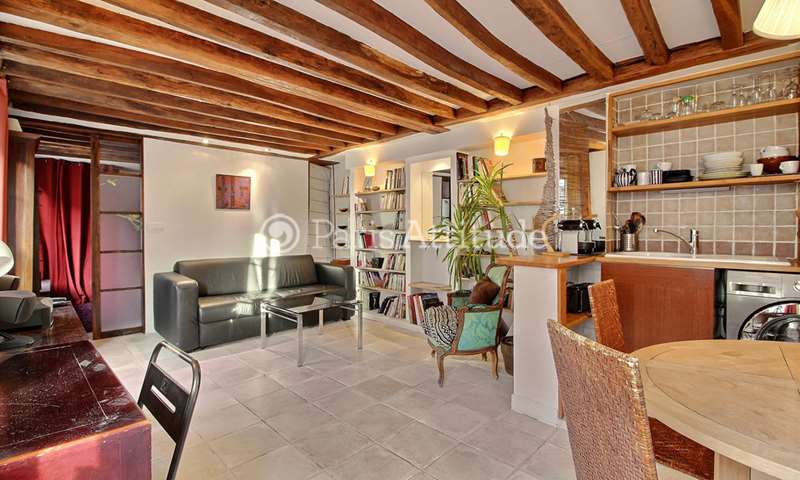 Location Appartement 1 Chambre 35m² rue du Bourg L Abbe, 75003 Paris