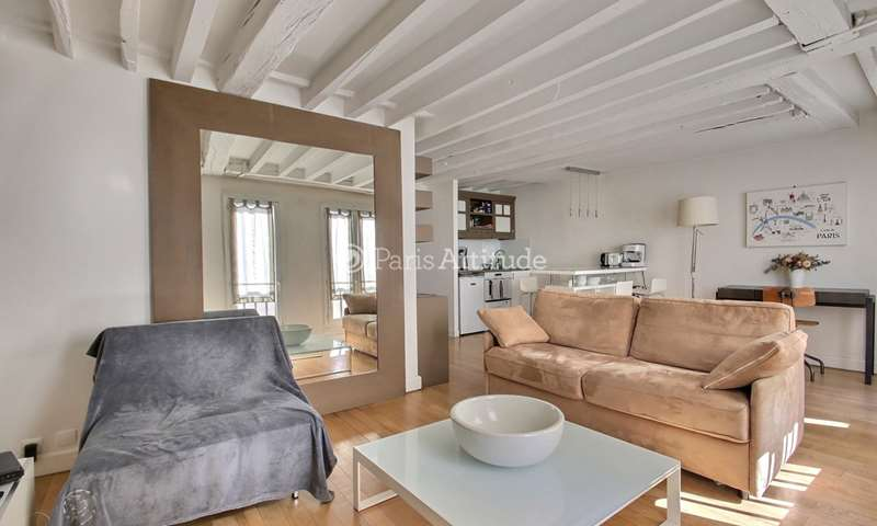 Rent Apartment 1 Bedroom 42m² rue du Temple, 75004 Paris