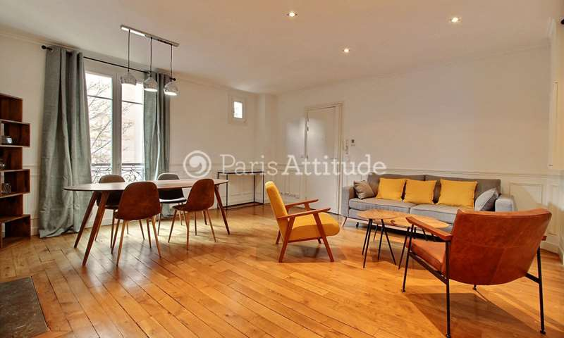 Rent Apartment 2 Bedrooms 76m² avenue Theophile Gautier, 16 Paris