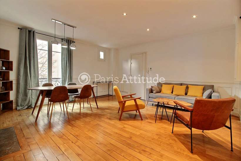 Rent furnished Apartment 2 Bedrooms 76m² avenue Theophile Gautier, 75016 Paris