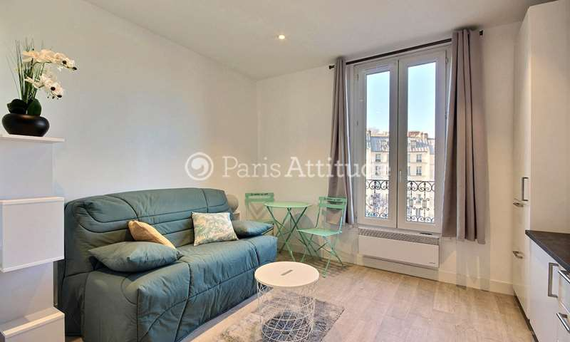Rent Apartment Studio 16m² rue Custine, 18 Paris