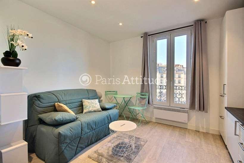Louer Appartement meublé Studio 16m² rue Custine, 75018 Paris