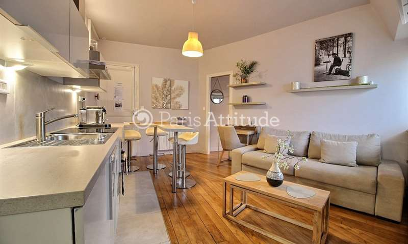 Rent Apartment 1 Bedroom 33m² avenue Henri Martin, 16 Paris