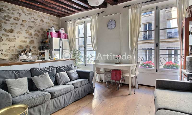 Rent Apartment 1 Bedroom 39m² rue des Rosiers, 4 Paris