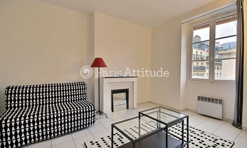 Rent Apartment Studio 25m² rue de Rochechouart, 75009 Paris