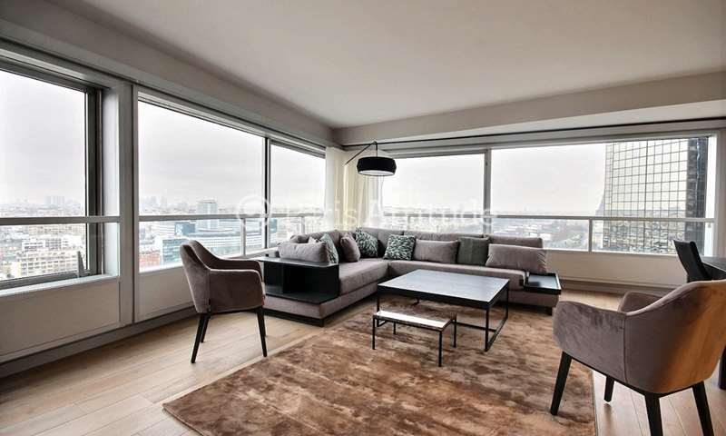 Rent Apartment 3 Bedrooms 118m² quai Andre Citroen, 15 Paris