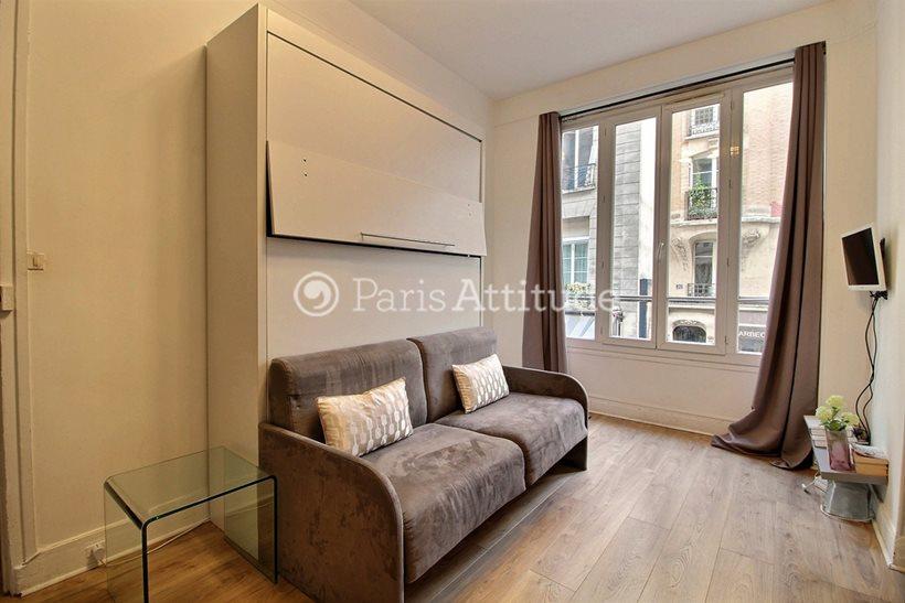 Louer Appartement meublé Studio 20m² rue des Lombards, 75004 Paris