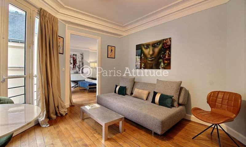 Rent Apartment 1 Bedroom 50m² rue du Louvre, 1 Paris