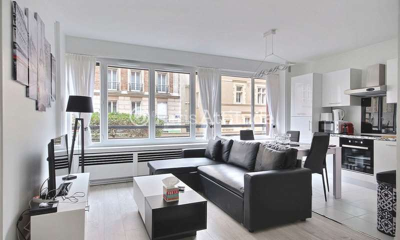 Rent Apartment 1 Bedroom 49m² rue Laugier, 17 Paris