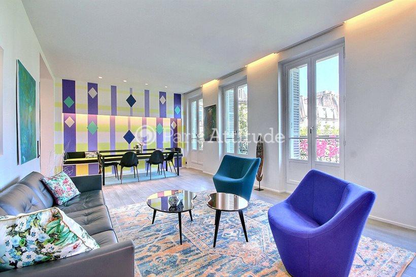 Rent furnished Apartment 2 Bedrooms 100m² rue de la Verrerie, 75004 Paris