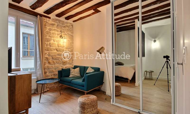 Location Appartement Alcove Studio 25m² rue du Faubourg Saint Antoine, 12 Paris
