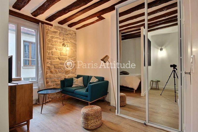 Louer Appartement meublé Alcove Studio 25m² rue du Faubourg Saint Antoine, 75012 Paris