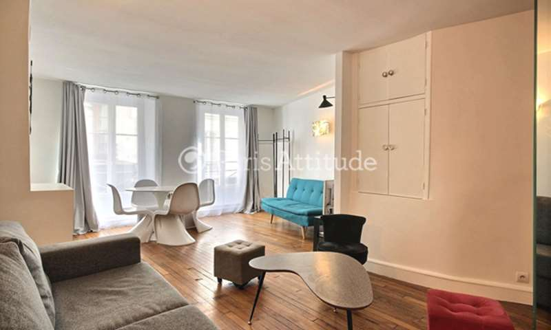 Location Appartement Studio 35m² rue de Poitou, 3 Paris