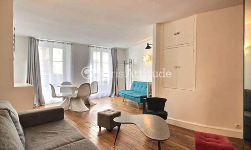 Rent Apartment Studio 35m² rue de Poitou, 75003 Paris