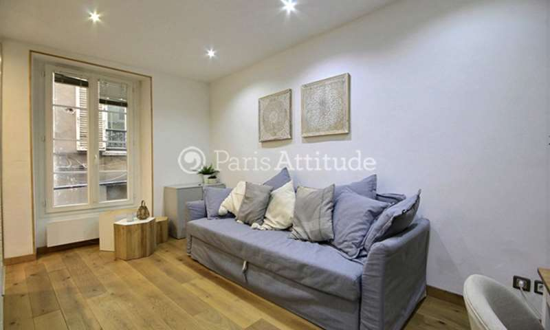 Rent Apartment Studio 20m² rue du Ponceau, 75002 Paris