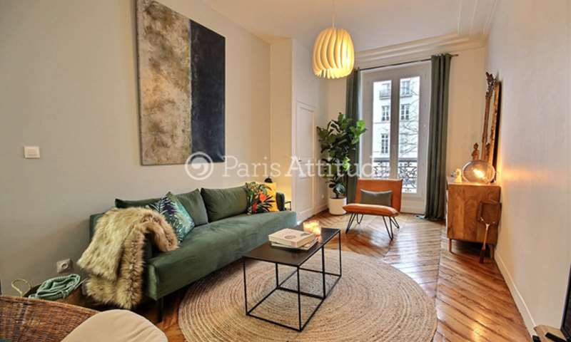 Rent Apartment 1 Bedroom 46m² rue Meslay, 3 Paris
